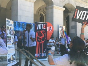 "California Youth Raise Their Voices ""Strong and Loud"""