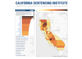California Sentencing Institute now shows 2015 trends