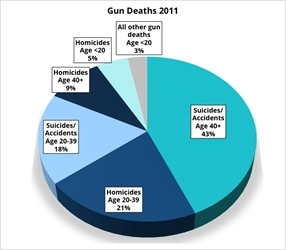 Who's Really Dying from Guns in the United States?