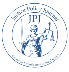 Justice Policy Journal - Volume 14, Number 1 - Spring 2017