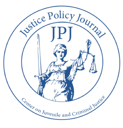 Justice Policy Journal - Volume 14, Number 2 - Fall 2017