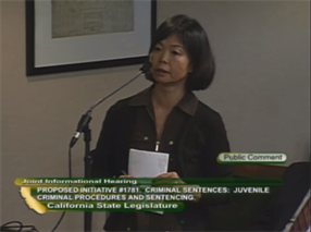 California legislature hears pros and cons of statewide sentencing reform