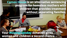 Give Homeless Mothers a Second Chance on #GivingTuesday