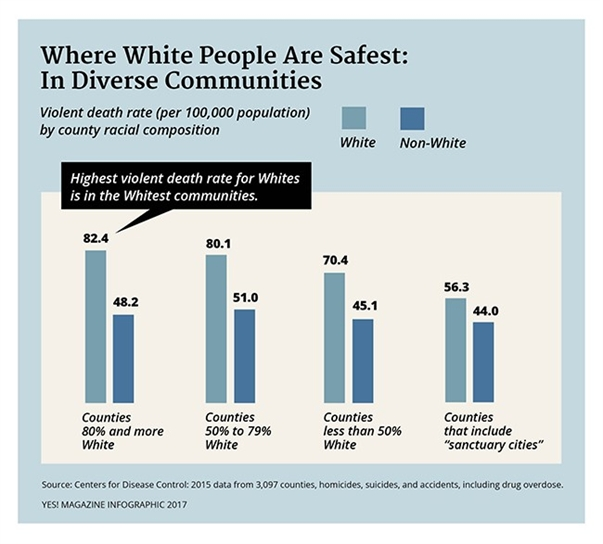The Myth of White Safety in White Numbers