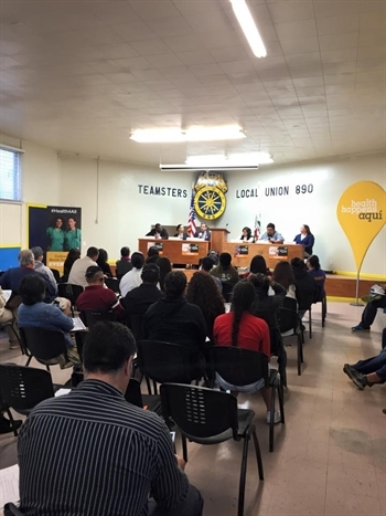 Salinas community meeting