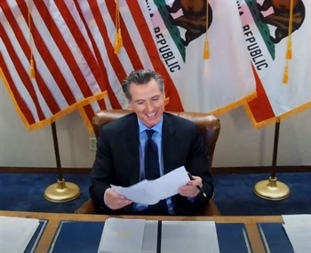 Governor Newsom signs bill to close California's Division of Juvenile Justice (DJJ).