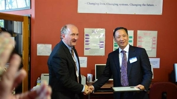 CJCJ Executive Director Daniel Macallair and San Francisco Public Defender Jeff Adachi